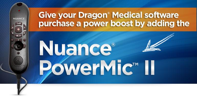 Nuance PowerMic II
